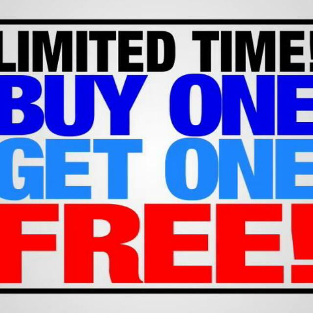 Valentine's Day Special! Buy One Get Free Limited Time Only