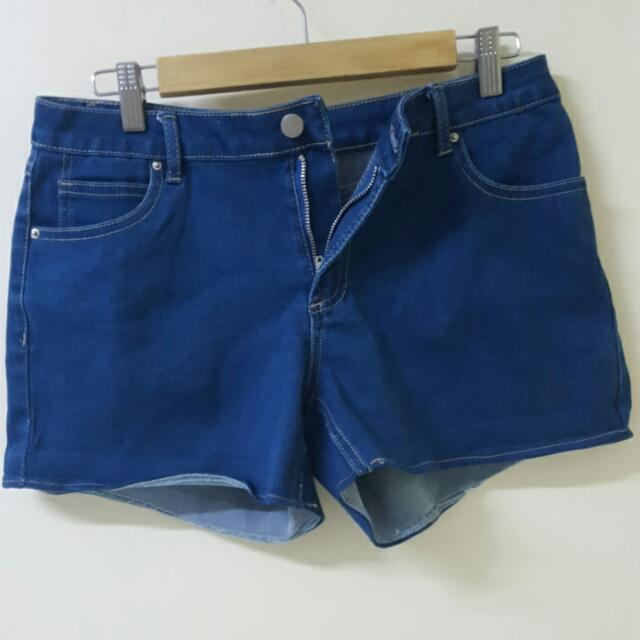 Valleygirl Denim Stretch Shorts
