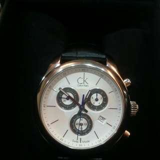 瑞士ck手錶(含保證書)