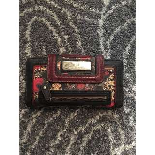 River Island Floral Scarf Print Long Wallet