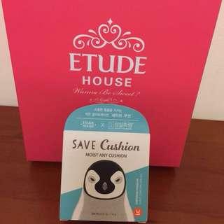 Etude house 韓國限定款 高保濕款 即可拍/氣墊粉餅