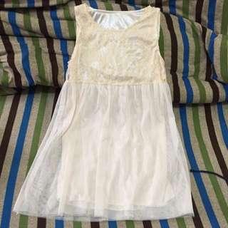 雪紡紗小洋裝