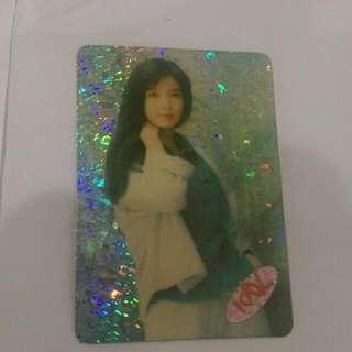 Idol Card 偶像卡 Vivian Chow 周慧敏