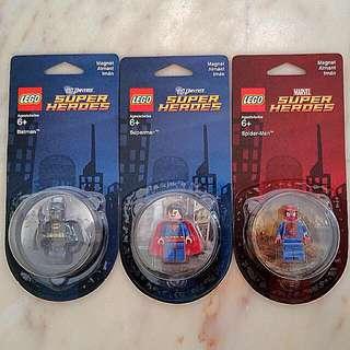 Lego Super Hero Fridge Magnets