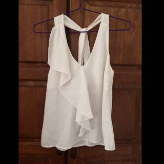 [Price Drop]H&M White Top