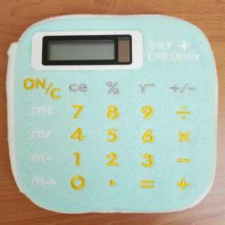 Solar plush calculator