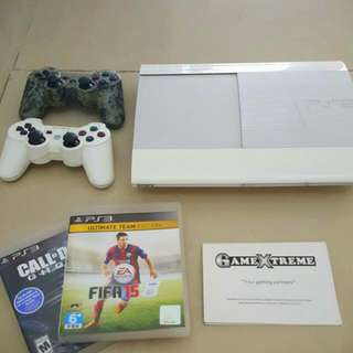 Ps3 With LIFETIME WARRANTY,,