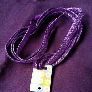 BN Shiny Purple Shoelaces