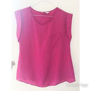 Dorothy Perkins Fuschia Blouse