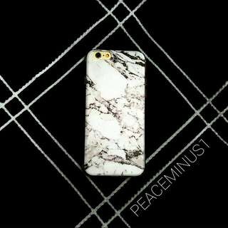 [Instocks CNY Promotion] White Marble Matte Series iPhone 6 6S 6Plus 6S Plus TPU Soft Case Cover
