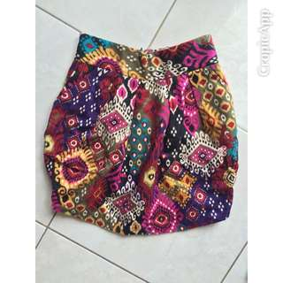Mini Ethnic Skirt