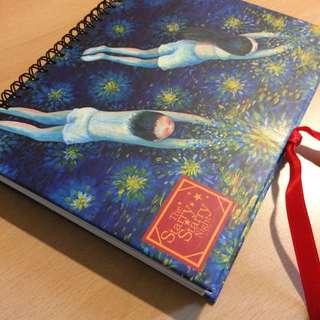 綁帶筆記本 全新 精緻內頁設計