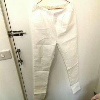 【全新】白褲