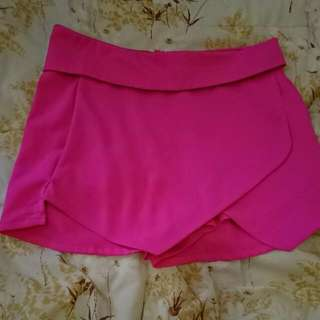 Hot Pink Club Shorts (size 8)