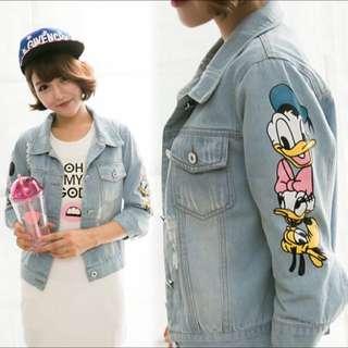 迪士尼牛仔外套