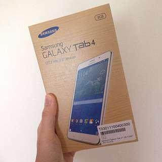 Samsung Galaxy Tab 4 (T2397) 白 8G