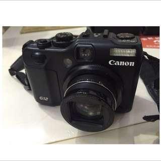 Canon G12 過保固 含運