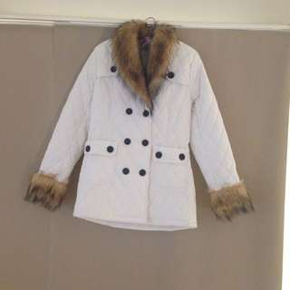 Women's White Coat