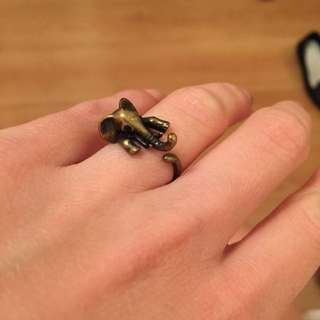 Elephant Rings (gold And Silver)