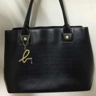 agnès b. Leather Handbag
