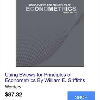Using Eviews For Principles Of Econometrics
