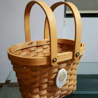 Precious Tots Basket. Excellent Condition. Kept For Many Years.