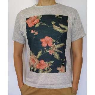 Flower Printed T shirt