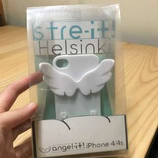 iPhone 4s天使手機殼