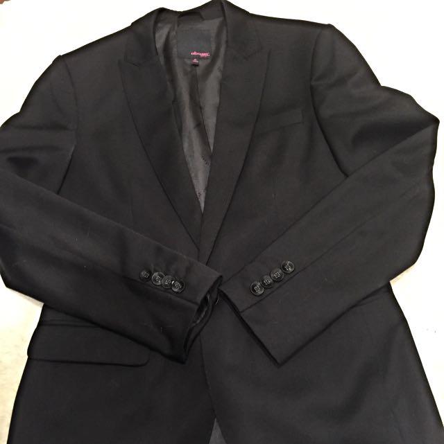 黑色西裝外套2手