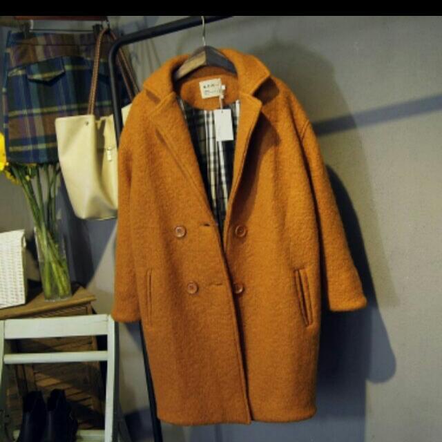 超優惠 韓國時尚毛呢秋冬大衣
