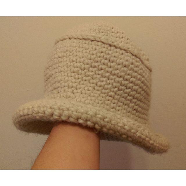 二手 針織漁夫帽