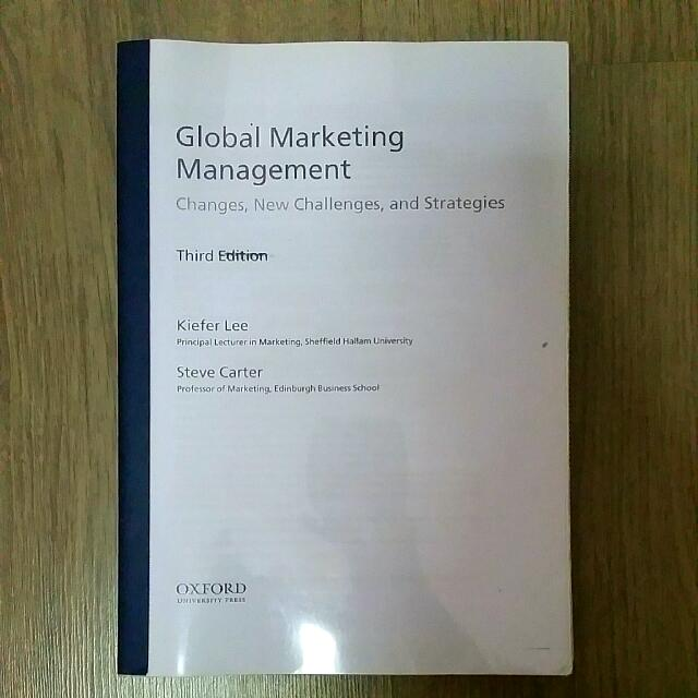 global marketing management with cd