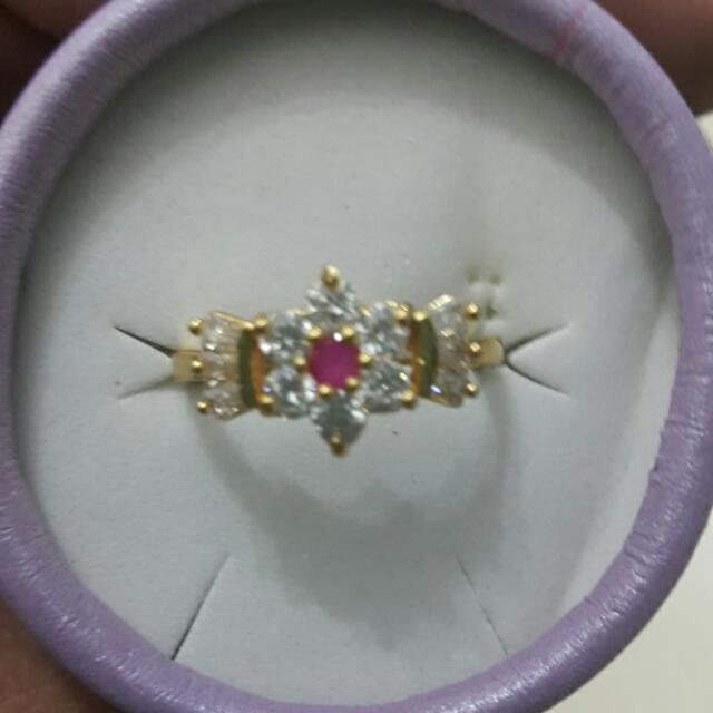 Gold Plated Ring From Pakistan