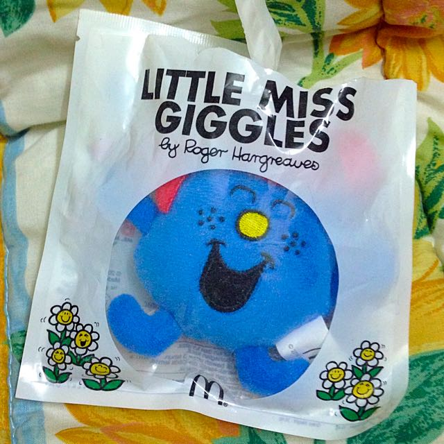 Little Miss Giggles Macdonald's