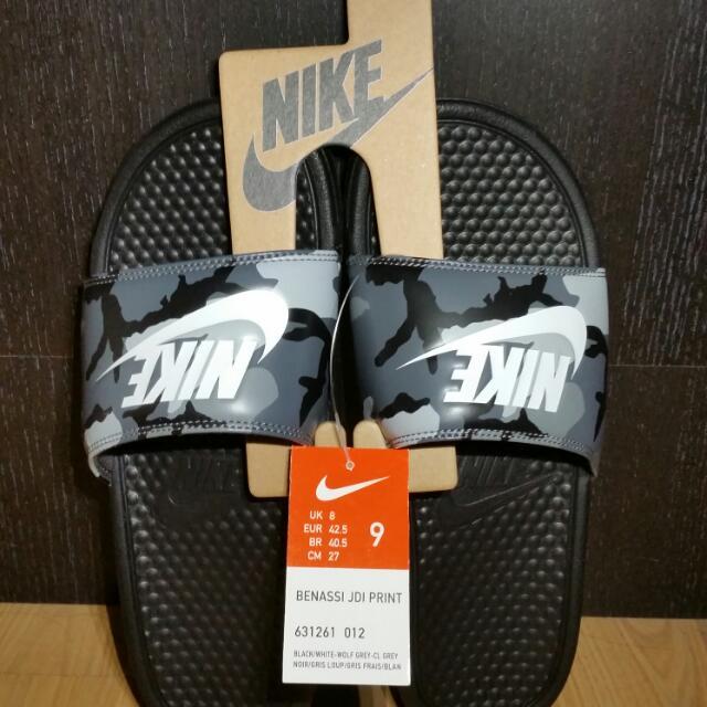 Nike Benassi JDI Slides - Men's (Camo