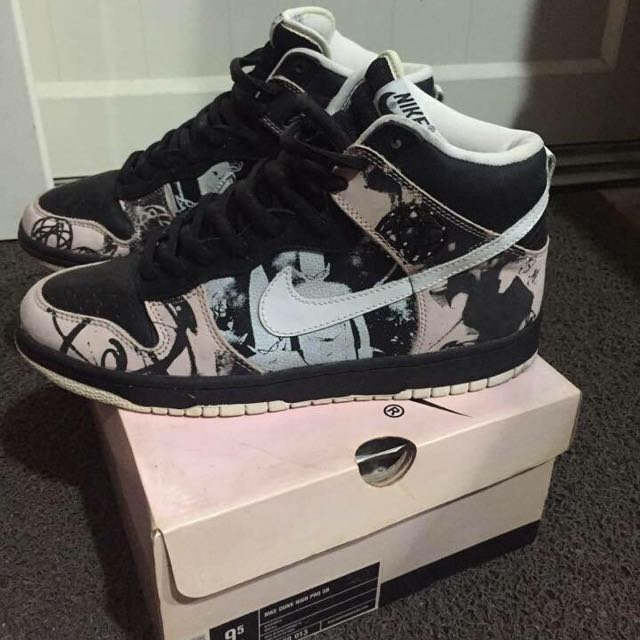 best website 6a968 78361 Nike Dunk High Sb Unkle