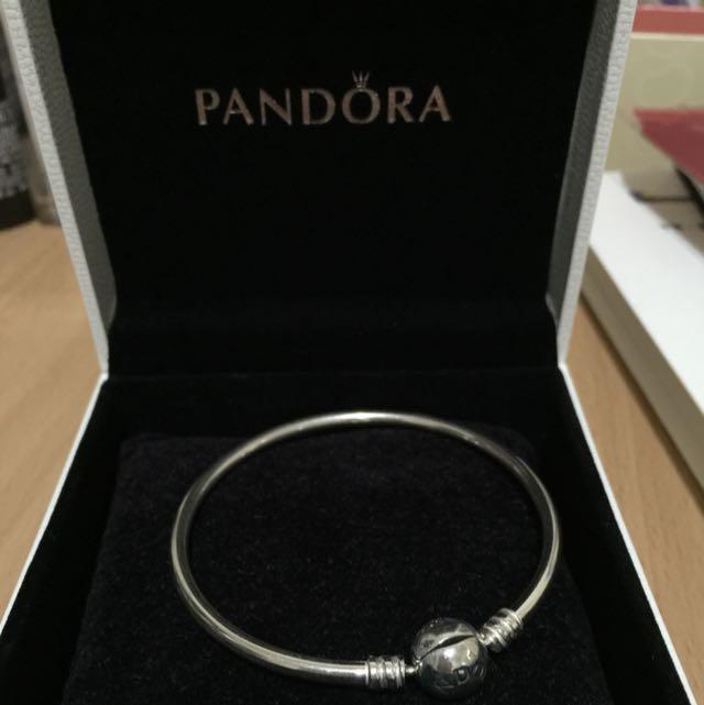 PANDORA 硬環17CM手環