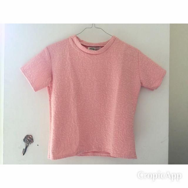 Peachy Pink Top