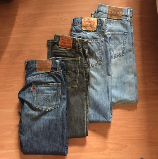 Pre-loved Levi's 512 502 Men's Jeans