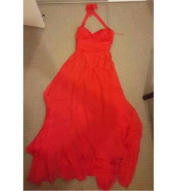 Red Formal Dress - Floor length