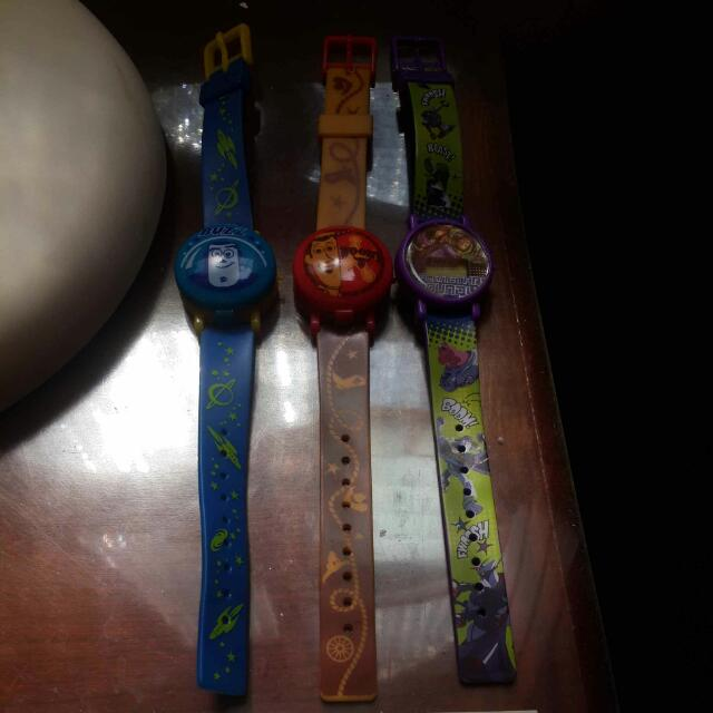 Toy Story轉蛋玩具錶