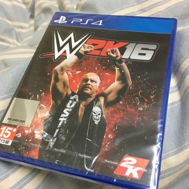 (保留中)WWE 2K16 Ps4遊戲片