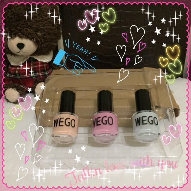 WEGO - 日系品牌指甲油。