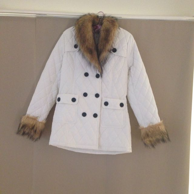 Women's White Coat