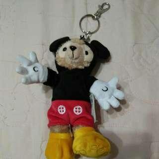 香港迪士尼 全新Duffy 變裝吊飾