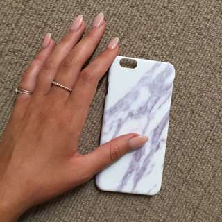 Hard 'marble' iPhone 6 Cover