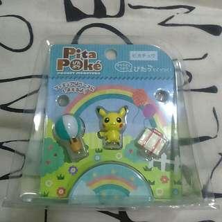 日本帶回 神奇寶貝聯名商店 皮卡丘 景品