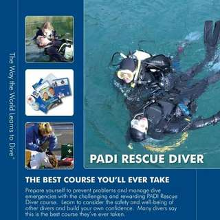 PADI RESCUE DIVER COURSE FOR 2 DAYS 2 NIGHTS OR 3 DAYS 3 NIGHTS IN TIOMAN ISLAND