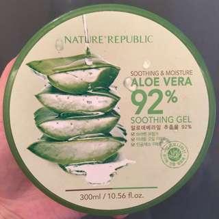 Nature Republic 蘆薈補水修護保濕凝膠
