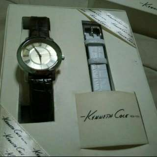 Reduced !! Kenneth Cole Watch - Dual Colour